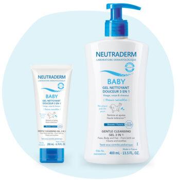 Gel nettoyant ultra-doux pour bébé Neutraderm